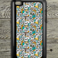 Pug Pattern iPod 4 Touch Case