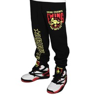 Drink Champs x Ewing Athletics Sweats Black
