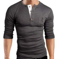 Deep Gray Long Sleeve T-Shirt