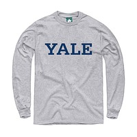 Yale Classic L/S T-Shirt (Heather Grey)