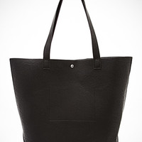 Classic Faux Leather Tote