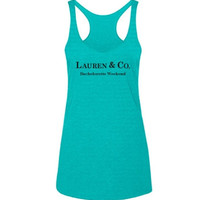 Personalized Bride & Co. Bachelorette Tank