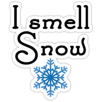 'Gilmore Girls - I smell Snow' Sticker by Quotation Park