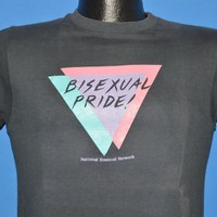 80s Bisexual Pride! t-shirt Small