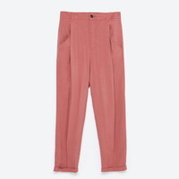 Loose-fit trousers
