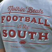 """""""Football in the South"""" T-Shirt   Southern Class Clothiers - Southern Class Clothing"""
