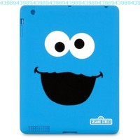 iSound Sesame Street Cookie Monster TPU Case for iPad 2 and iPad 3rd/4th generation:Amazon:Computers & Accessories