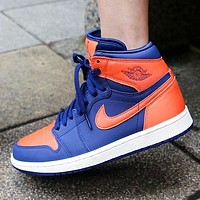 WMNS AIR JORDAN 1 AJ1 Fashion new hook high top couple shoes
