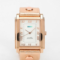Urban Outfitters - La Mer Rosegold Oversized Watch