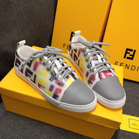 FENDI Women Reflective Casual Shoes Sneaker
