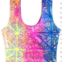 Kaleidoscope Crop Tank