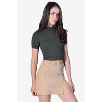 Uptown Mock Neck Top - Olive