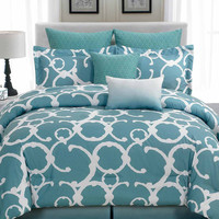 Rhys Hotel Quilted Comforter Set
