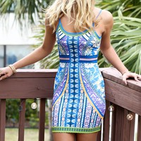 Sun On The Water Bodycon Dress