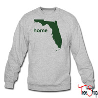 florida home crewneck sweatshirt