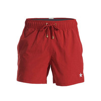 Mazu Swimwear Star Ferry Tanbark Red