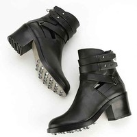 Dolce Vita Kleat Belted Ankle Boot- Black