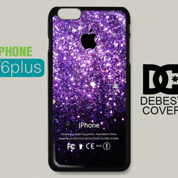 Violet Glitter Ombre Apple for iPhone Cases-iPhone 4/4s iPhone 5/5s/5c iPhone 6/6plus/6s/6s plus