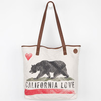 Billabong Mi Casa Luv Tote Bag Natural One Size For Women 21597142301