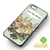 Loki army The Avengers - zzzzzz for  iPhone 4/4S/5/5S/5C/6/6+,Samsung S3/S4/S5/S6 Regular/S6 Edge,Samsung Note 3/4