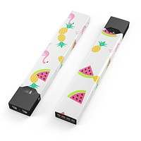 Flaminos Fun and Fruit - Premium Decal Protective Skin-Wrap Sticker compatible with the Juul Labs vaping device