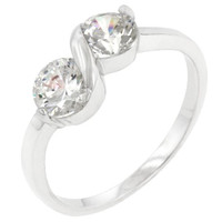 Sterling Silver Anniversary Ring, size : 10