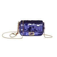 Fendi Micro Squin Baguette Bag