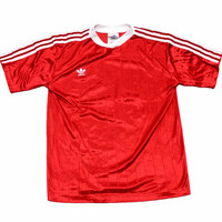 Vintage 90s Adidas Soccer Jersey #17 Made in USA Mens Size Small