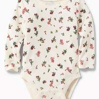 Patterned Bodysuit for Baby|old-navy