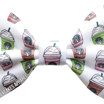 Whipped Drink Hair Bow
