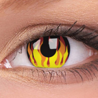 Flame Hot Contact Lenses, Flame Hot Contacts | EyesBright.com