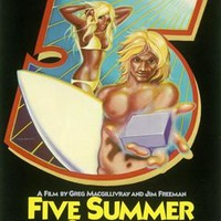 Five Summers Stories Surf Movie Ad Fine Art Print