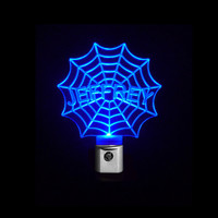 Kids Personalized Custom Spiderman Web LED Night Light *Or Design your own Light