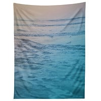 Leah Flores Cotton Candy Waves Tapestry