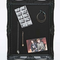 Frame Pin Board in Black - Urban Outfitters