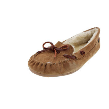 G.H. Bass & Co. Mens Suede Indoor/Outdoor Moccasin Slippers