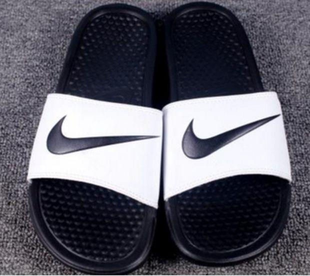 Image of NIKE Women And Men Casual  Fashion Sandal Slipper Shoes