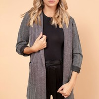 Weekend Warrior Blazer in Black