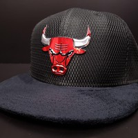 Chicago Bulls 2017 NBA On Court Fitted Cap