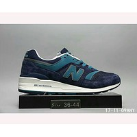 """New Balance"" fashion casual breathable N breathable shoes  F-HAOXIE-ADXJ  Dark blue"