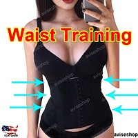 Workout Sport Tummy Control Waist Trainer Cincher Underbust Corset Body Shaper Slim Belt