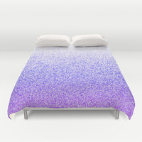 I Dream in Purple Duvet Cover by M Studio