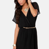 Mighty Aphrodite Black Dress