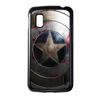 Captain America Winter Soldier Shield Nexus 4 Case