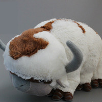 Avatar Appa Stuffed Plush Doll Large Soft Toy 20 inch Last Airbender Made to Order