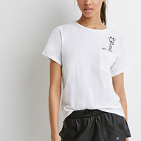 Giraffe Pocket Tee