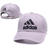 ADIDAS 2018 summer new men and women casual sunscreen baseball cap F0675-1 grey
