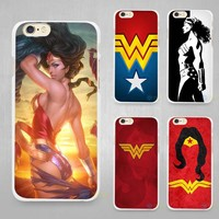 Wonder woman  Case Cover for iPhone 4 4s 5 SE 5s 6 6s 7 Plus