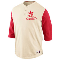 St. Louis Cardinals Cooperstown Washed Old School Henley - MLB.com Shop