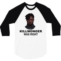 erik killmonger 3/4 Sleeve Shirt